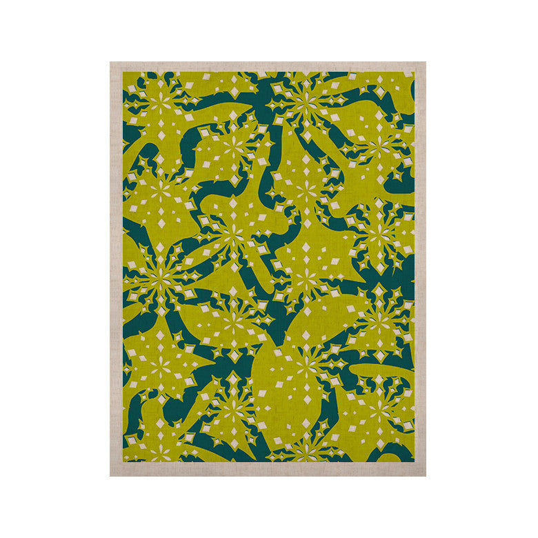 "Miranda Mol ""Festive Splash"" KESS Naturals Canvas (Frame not Included) - KESS InHouse  - 1"