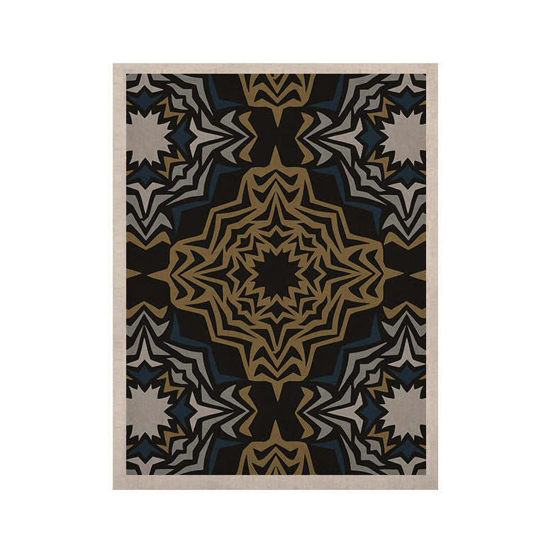 "Miranda Mol ""Golden Fractals"" KESS Naturals Canvas (Frame not Included) - KESS InHouse  - 1"
