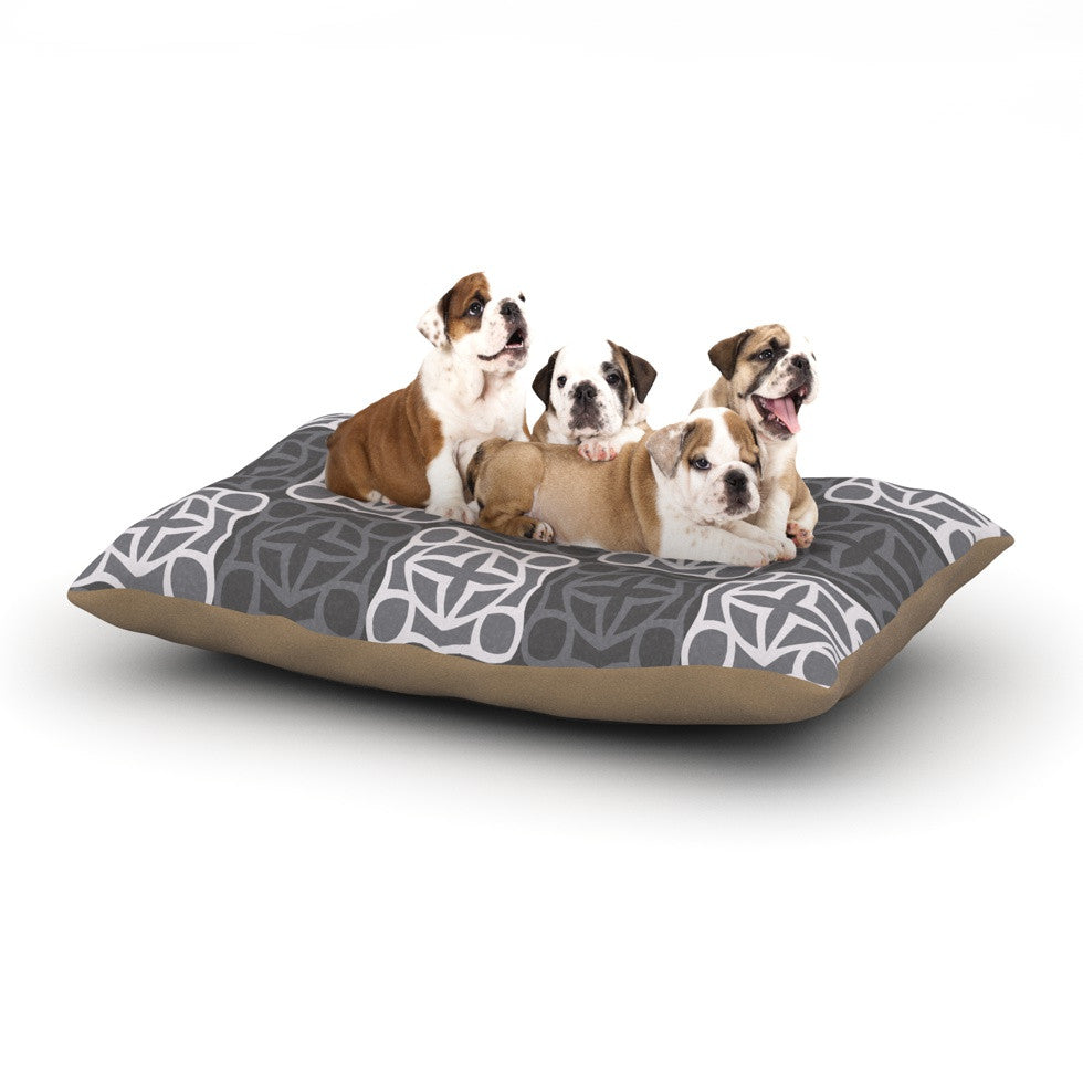 "Miranda Mol ""Granny Goes Modern"" Dog Bed - KESS InHouse  - 1"