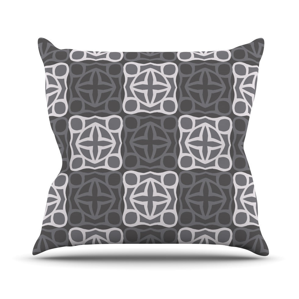 "Miranda Mol ""Granny Goes Modern"" Outdoor Throw Pillow - KESS InHouse  - 1"