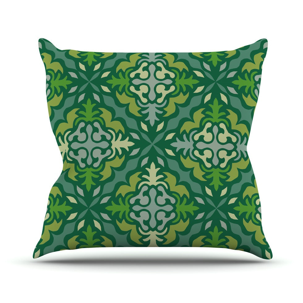 "Miranda Mol ""Yulenique"" Outdoor Throw Pillow - KESS InHouse  - 1"