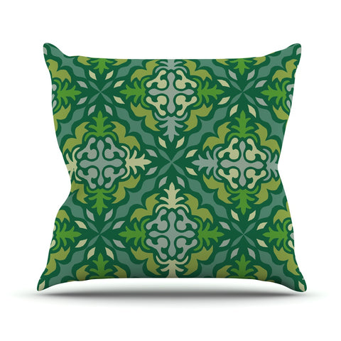 "Miranda Mol ""Yulenique""  Outdoor Throw Pillow - Outlet Item"