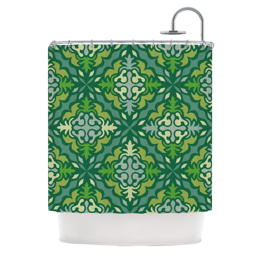 "Miranda Mol ""Yulenique"" Shower Curtain - KESS InHouse"