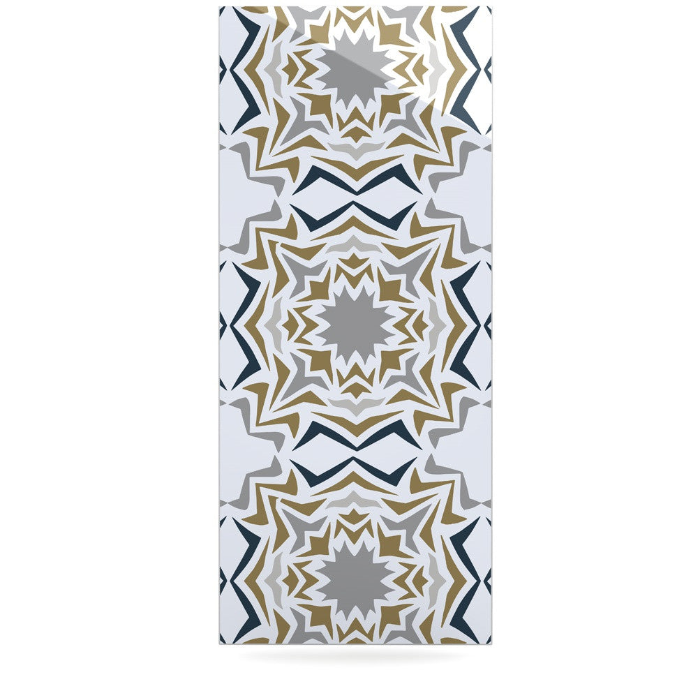 "Miranda Mol ""Ice Stars"" Luxe Rectangle Panel - KESS InHouse  - 1"