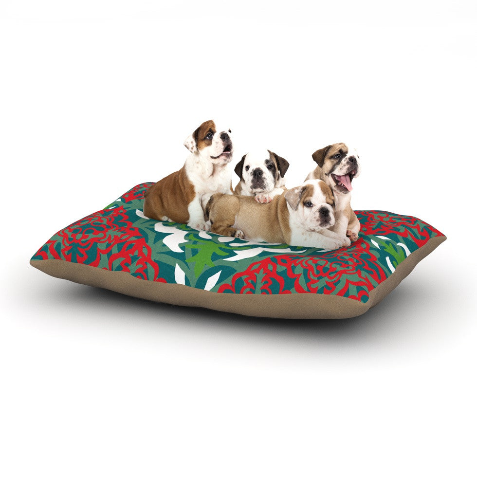 "Miranda Mol ""Lace Flakes"" Dog Bed - KESS InHouse  - 1"