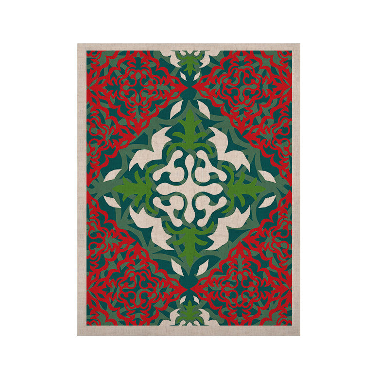 "Miranda Mol ""Lace Flakes"" KESS Naturals Canvas (Frame not Included) - KESS InHouse  - 1"