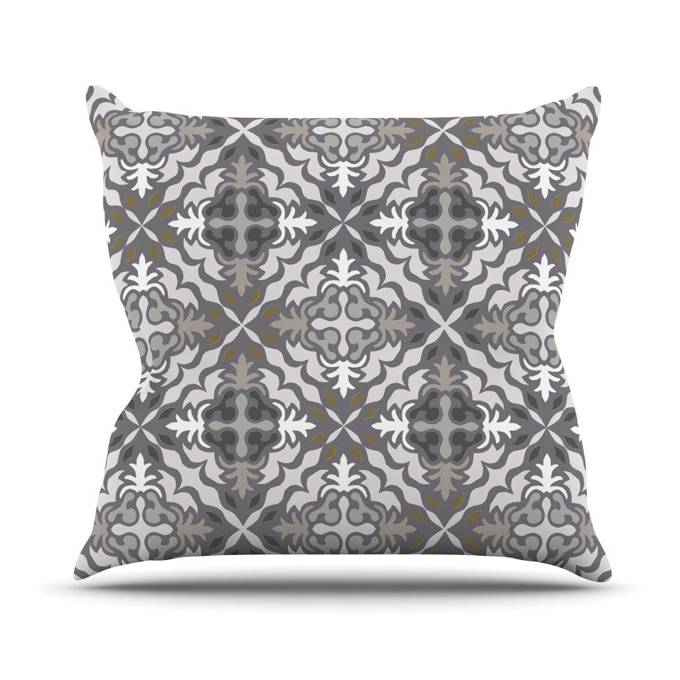 "Miranda Mol ""Let it Snow"" Throw Pillow - KESS InHouse  - 1"