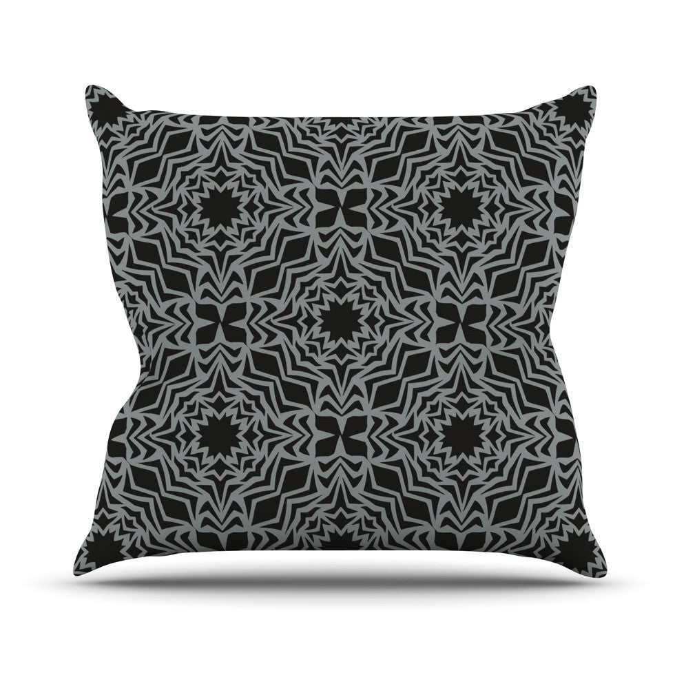 "Miranda Mol ""Optical Fest"" Outdoor Throw Pillow - KESS InHouse  - 1"