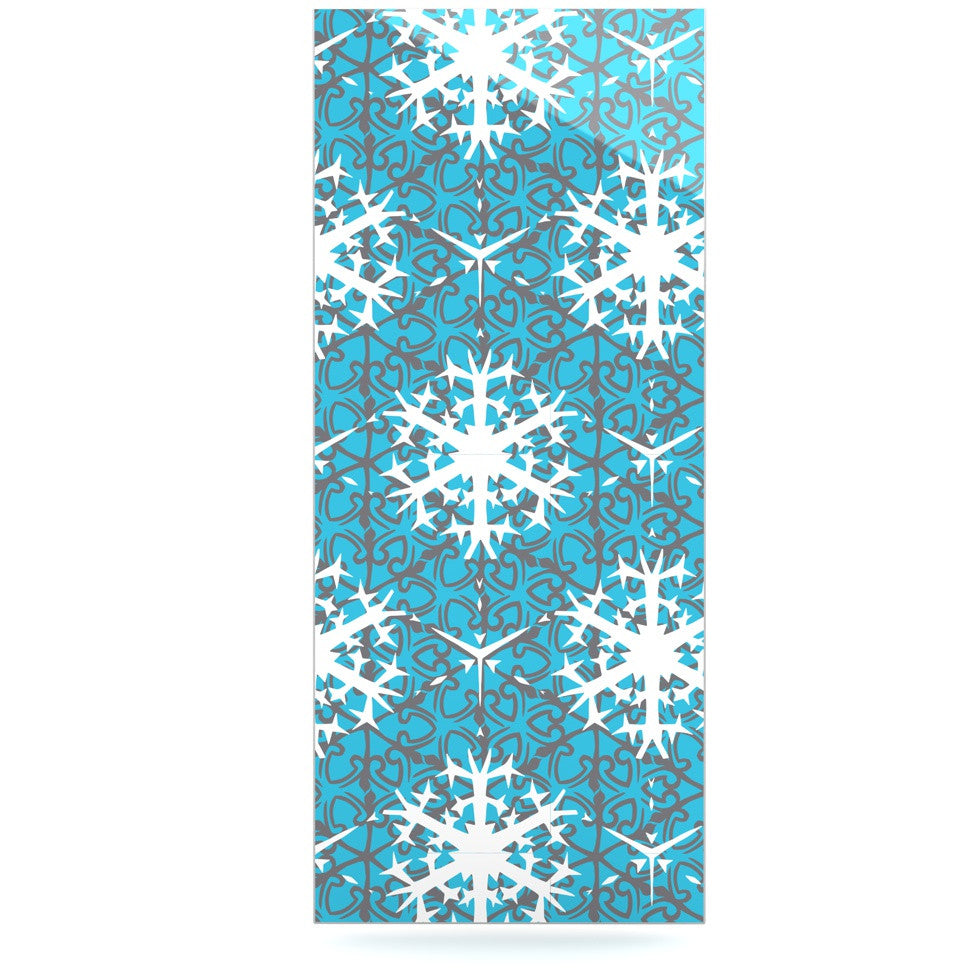 "Miranda Mol ""Precious Flakes"" Luxe Rectangle Panel - KESS InHouse  - 1"