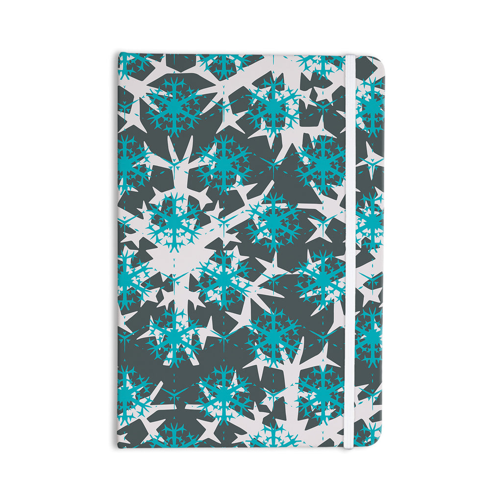 "Miranda Mol ""Tree Snow Flakes"" Everything Notebook - KESS InHouse  - 1"