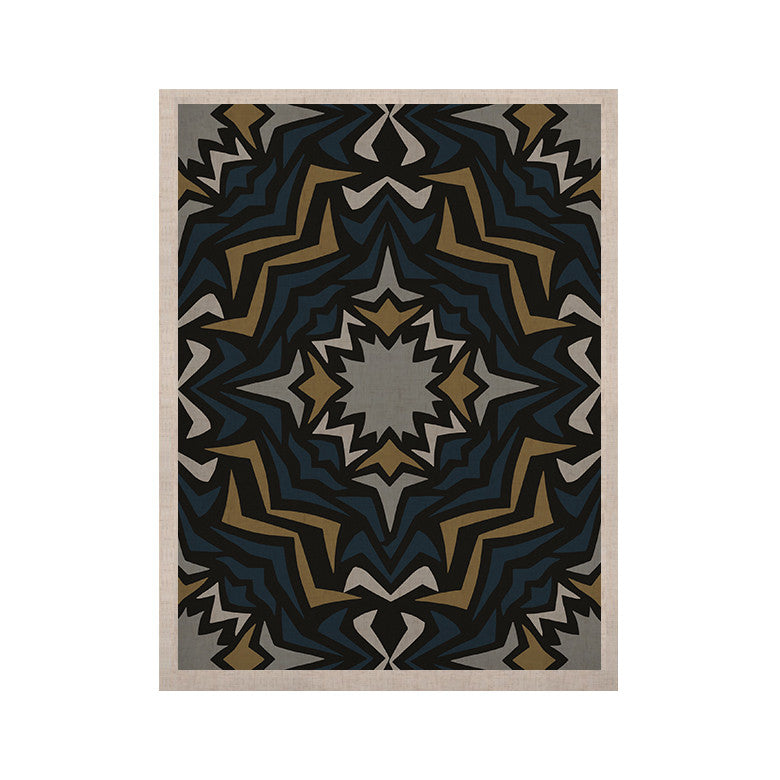 "Miranda Mol ""Winter Fractals"" KESS Naturals Canvas (Frame not Included) - KESS InHouse  - 1"