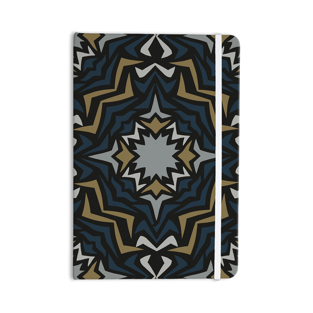 "Miranda Mol ""Winter Fractals"" Everything Notebook - KESS InHouse  - 1"