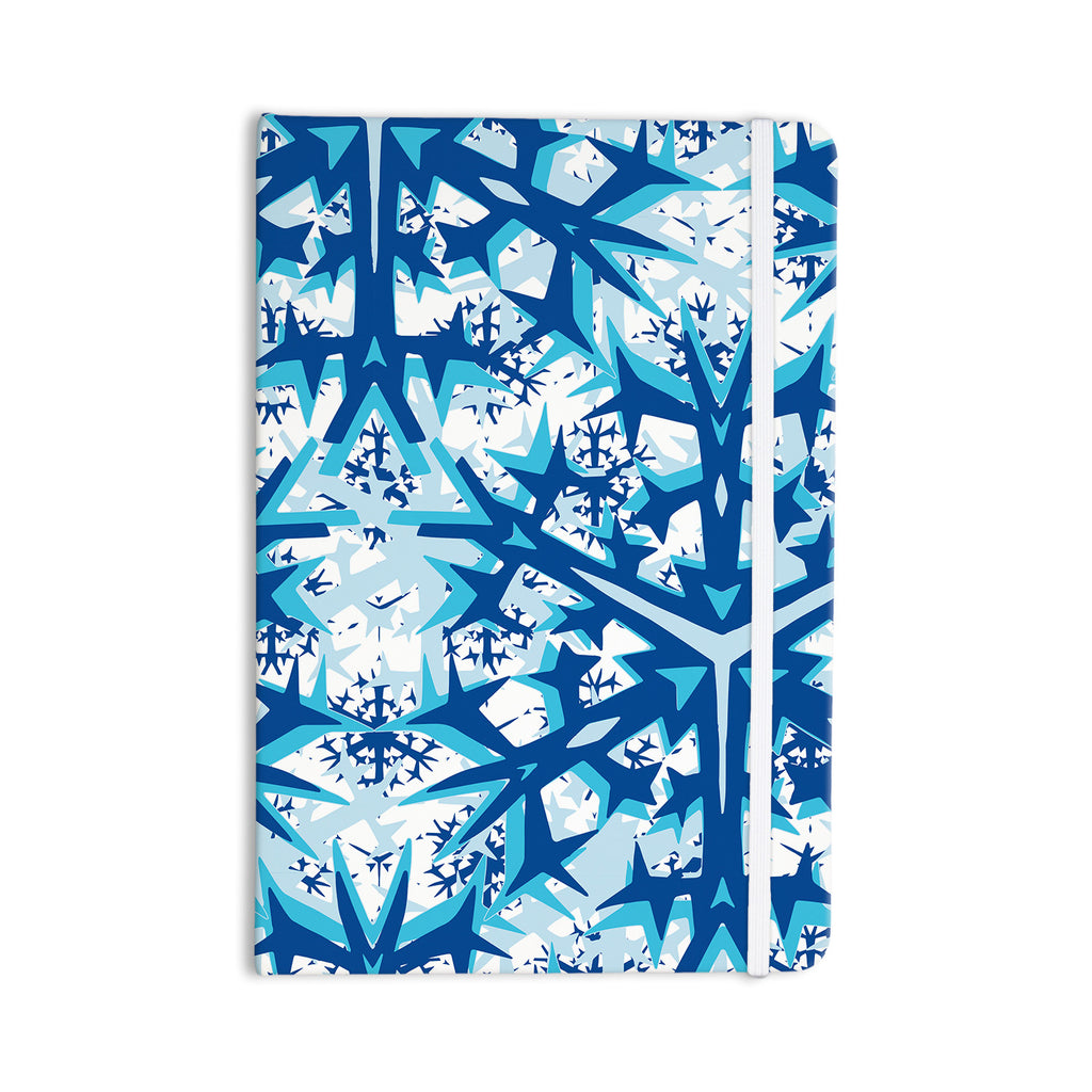 "Miranda Mol ""Winter Mountains"" Everything Notebook - KESS InHouse  - 1"