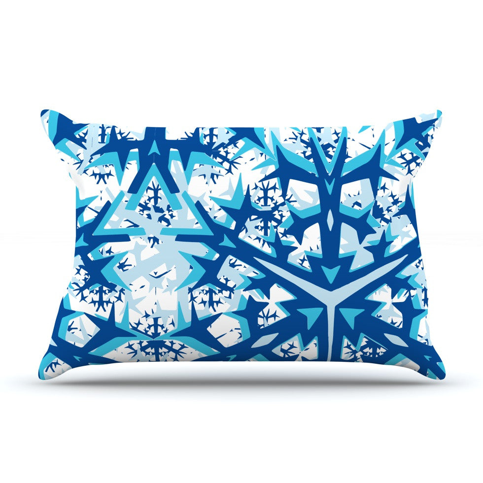 "Miranda Mol ""Winter Mountains"" Pillow Sham - KESS InHouse"