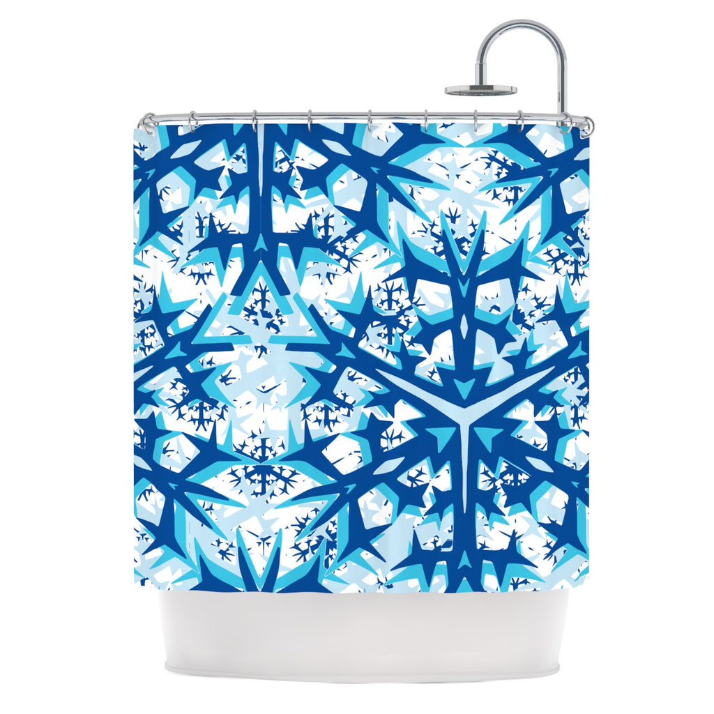"Miranda Mol ""Winter Mountains"" Shower Curtain - KESS InHouse"