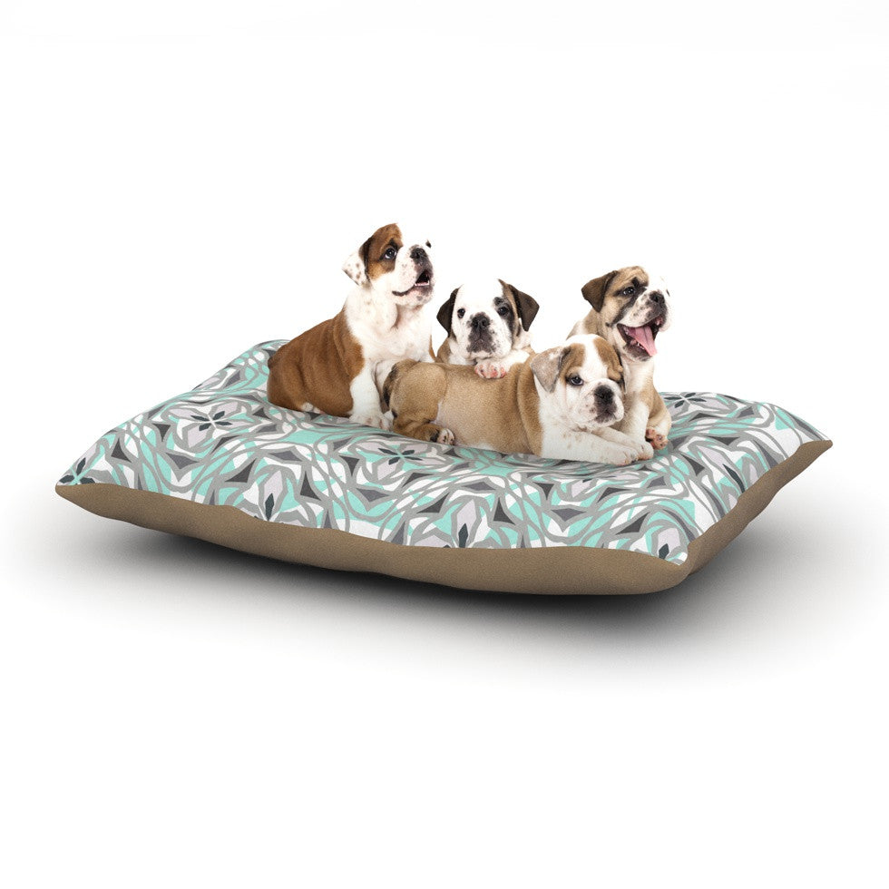 "Miranda Mol ""Winter Pool"" Dog Bed - KESS InHouse  - 1"