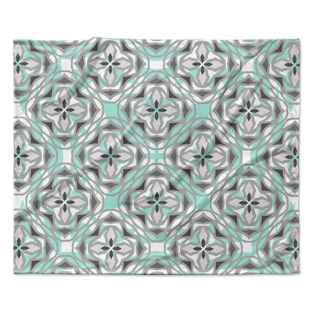 "Miranda Mol ""Winter Pool"" Fleece Throw Blanket"