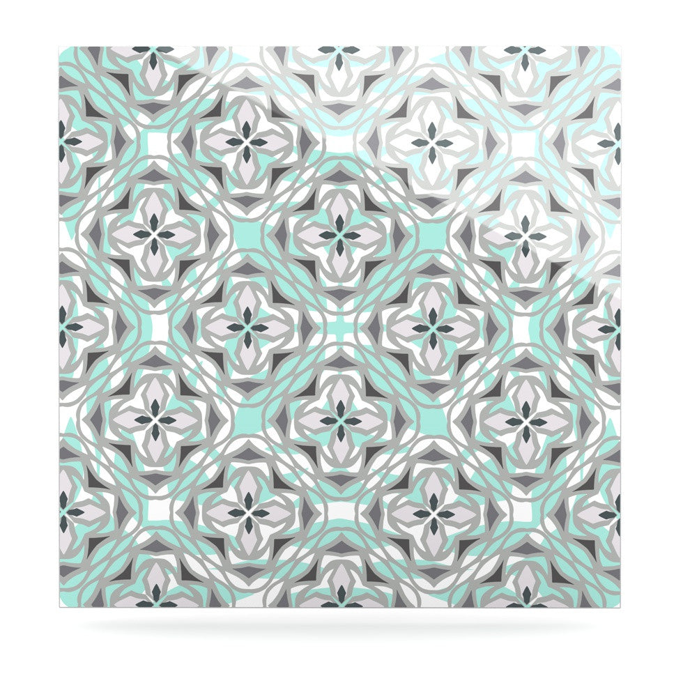 "Miranda Mol ""Winter Pool"" Luxe Square Panel - KESS InHouse  - 1"