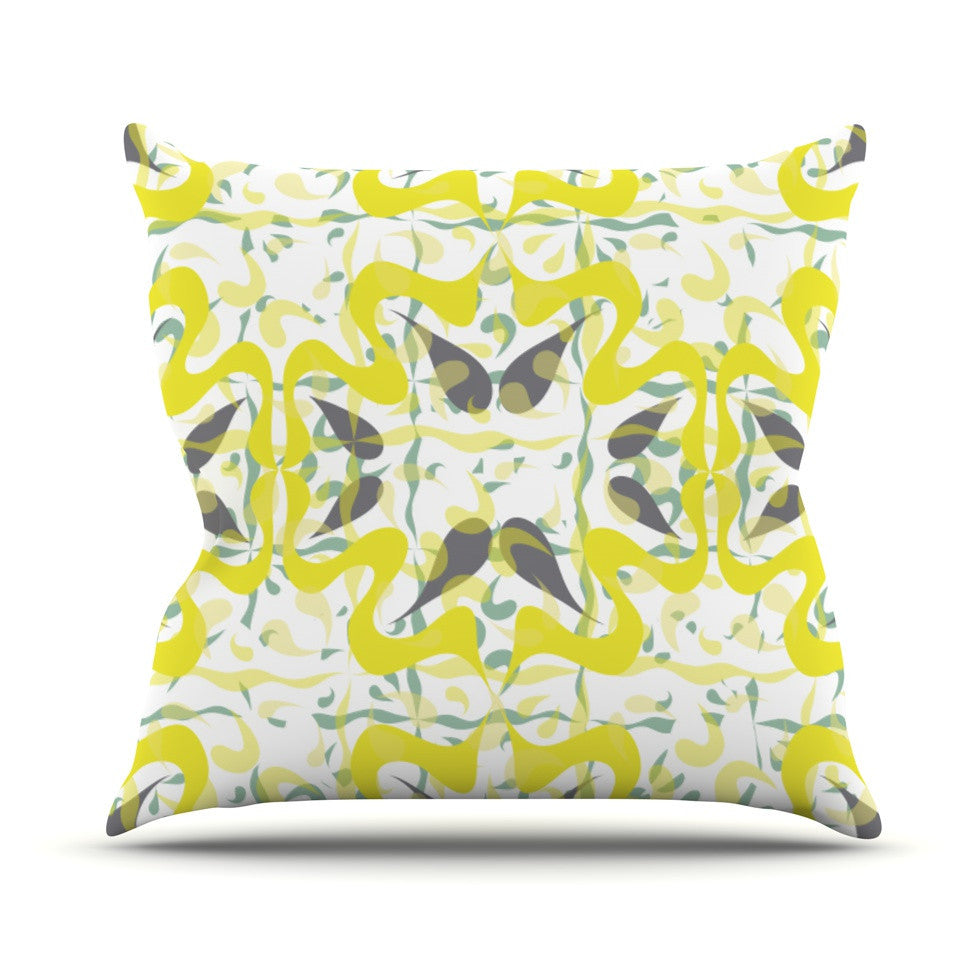 "Miranda Mol ""Azulejos"" Outdoor Throw Pillow - KESS InHouse  - 1"