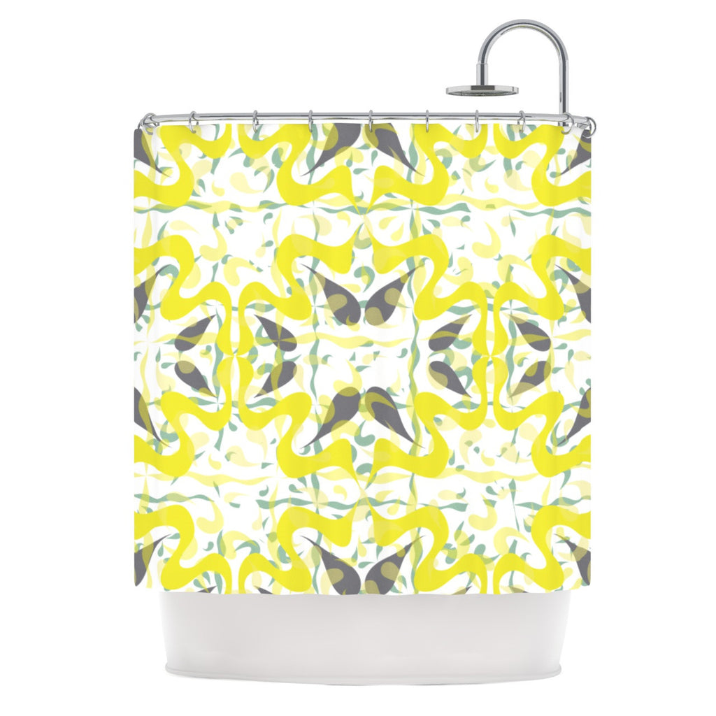 "Miranda Mol ""Azulejos"" Shower Curtain - KESS InHouse"