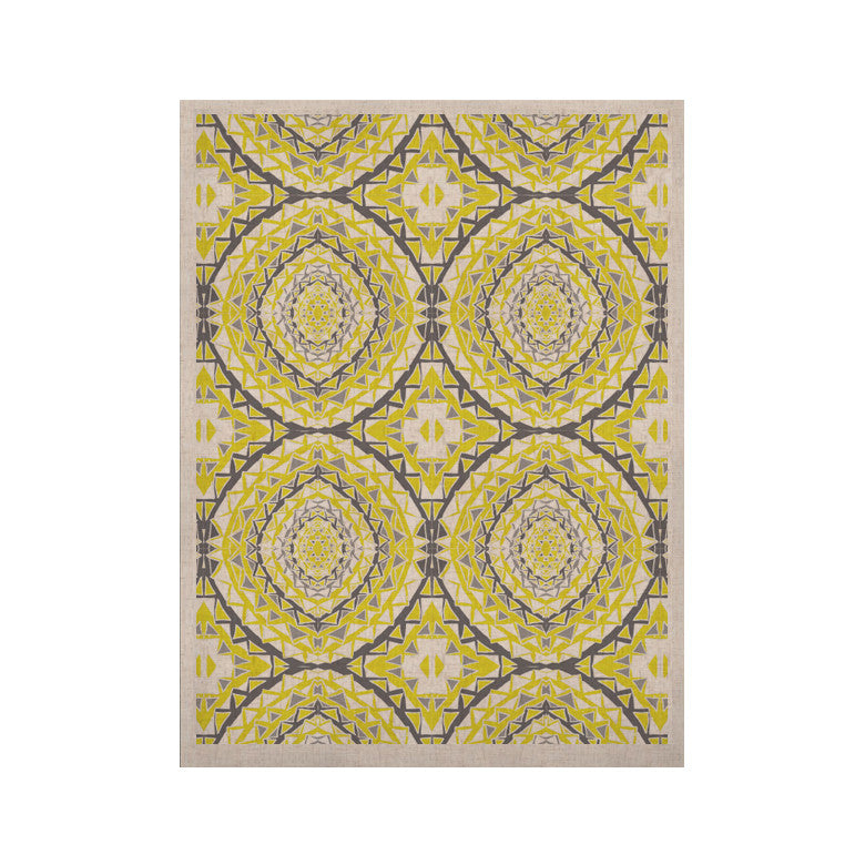 "Miranda Mol ""Yellow Tessellation"" KESS Naturals Canvas (Frame not Included) - KESS InHouse  - 1"