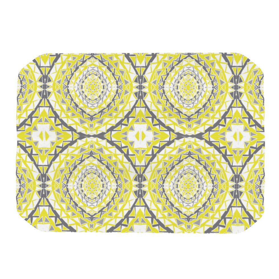 "Miranda Mol ""Yellow Tessellation"" Place Mat - KESS InHouse"
