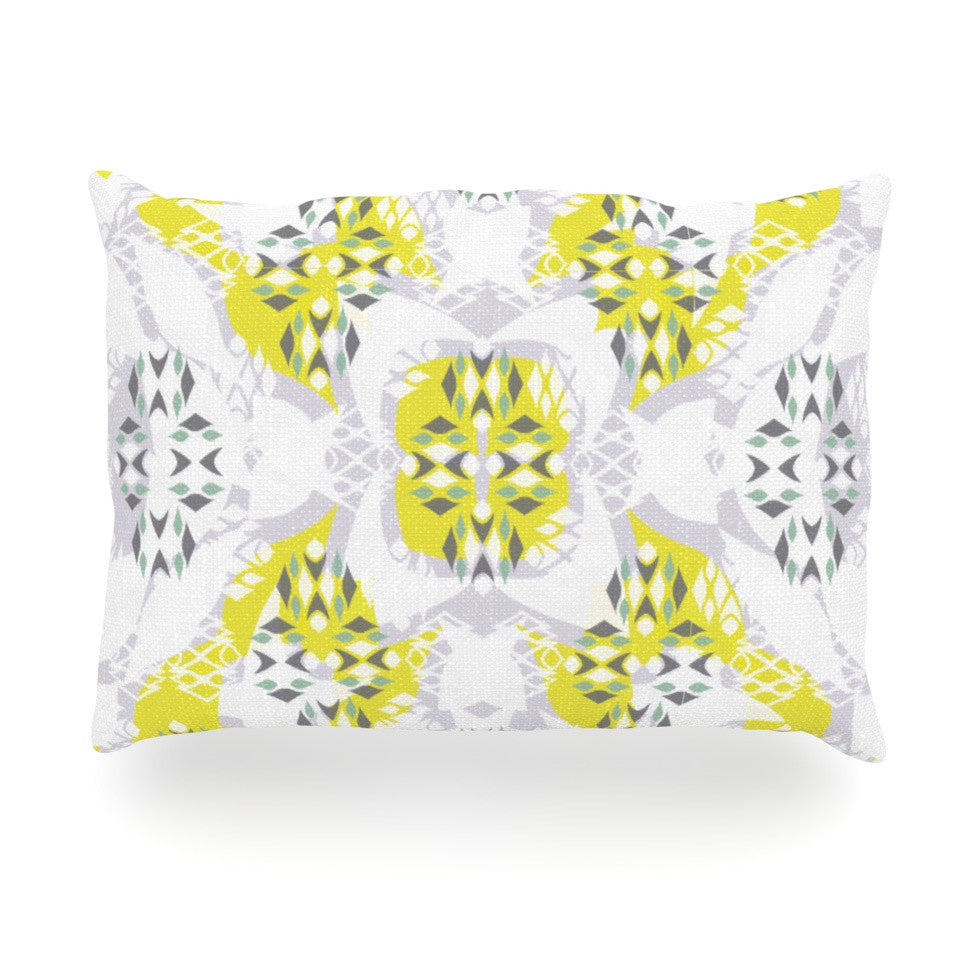 "Miranda Mol ""Vernal Season"" Oblong Pillow - KESS InHouse"