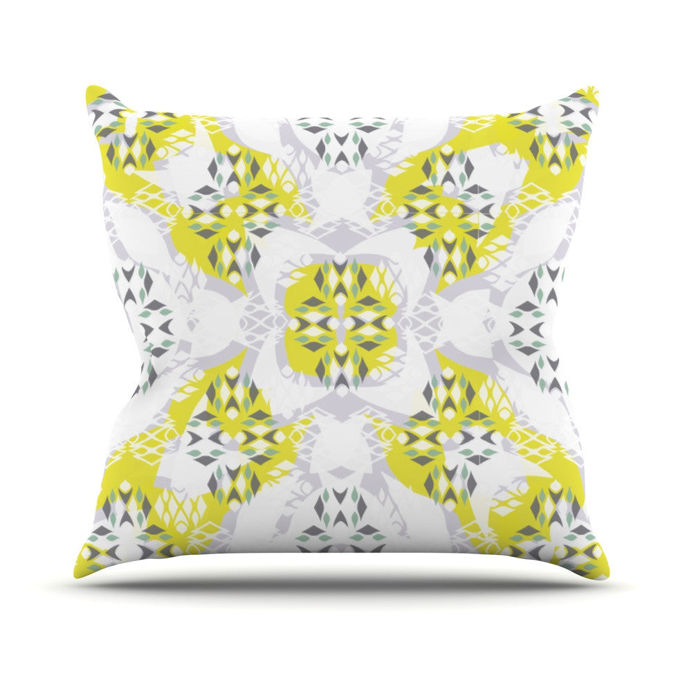 "Miranda Mol ""Vernal Season"" Outdoor Throw Pillow - KESS InHouse  - 1"
