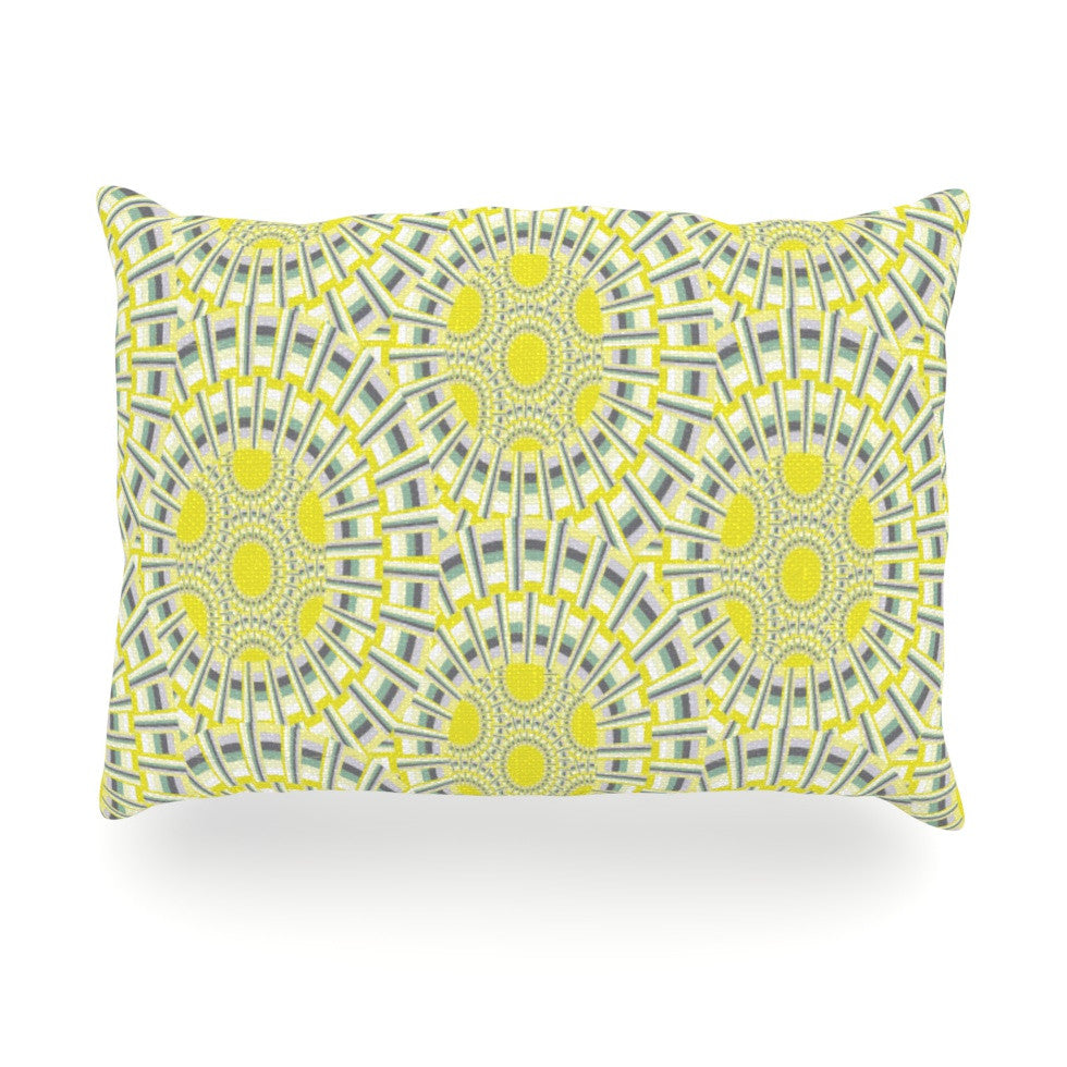 "Miranda Mol ""Sprouting Cells "" Oblong Pillow - KESS InHouse"