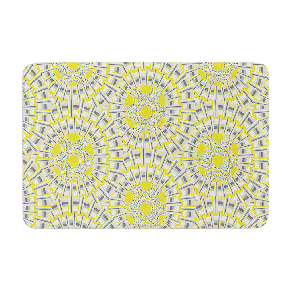 "Miranda Mol ""Sprouting Cells "" Memory Foam Bath Mat - KESS InHouse"