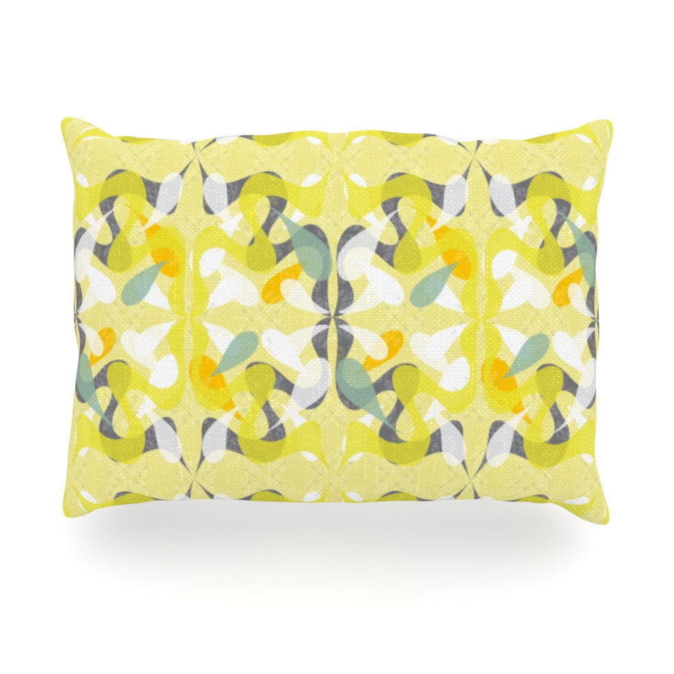"Miranda Mol ""Spring Flourish"" Oblong Pillow - KESS InHouse"