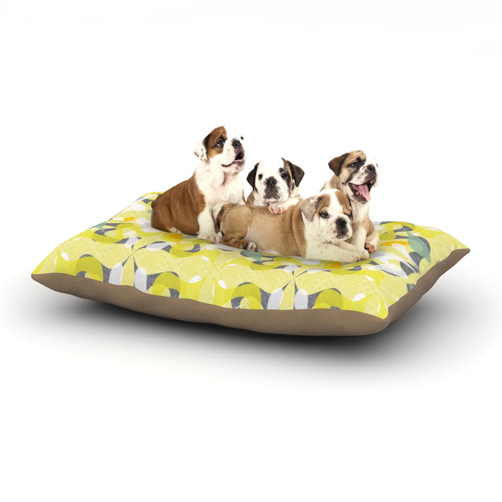 "Miranda Mol ""Spring Flourish"" Dog Bed - KESS InHouse  - 1"
