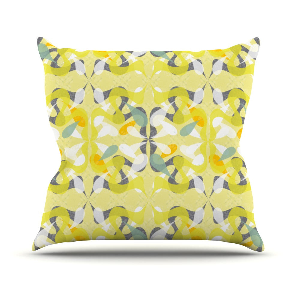 "Miranda Mol ""Spring Flourish"" Throw Pillow - KESS InHouse  - 1"