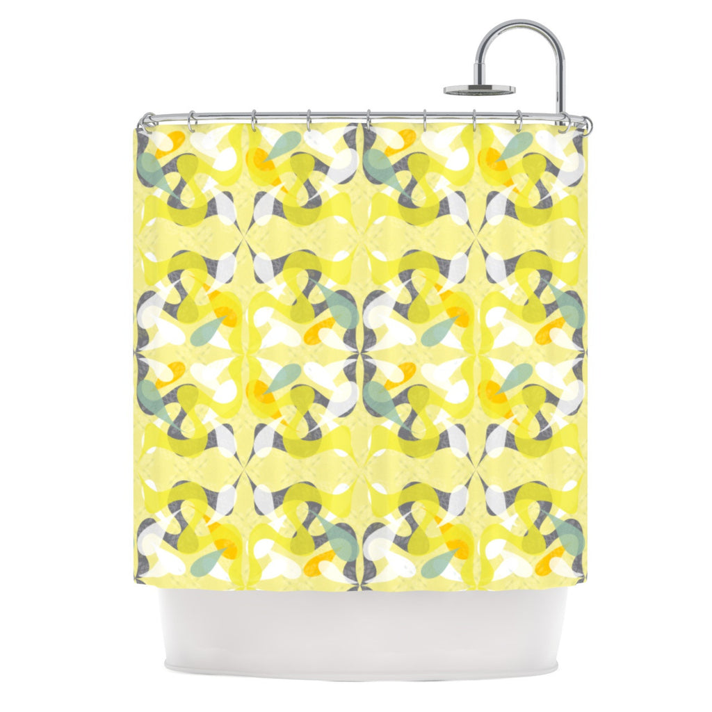 "Miranda Mol ""Spring Flourish"" Shower Curtain - KESS InHouse"