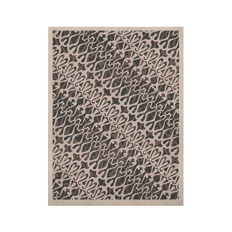 "Miranda Mol ""Silver Lace"" KESS Naturals Canvas (Frame not Included) - KESS InHouse  - 1"