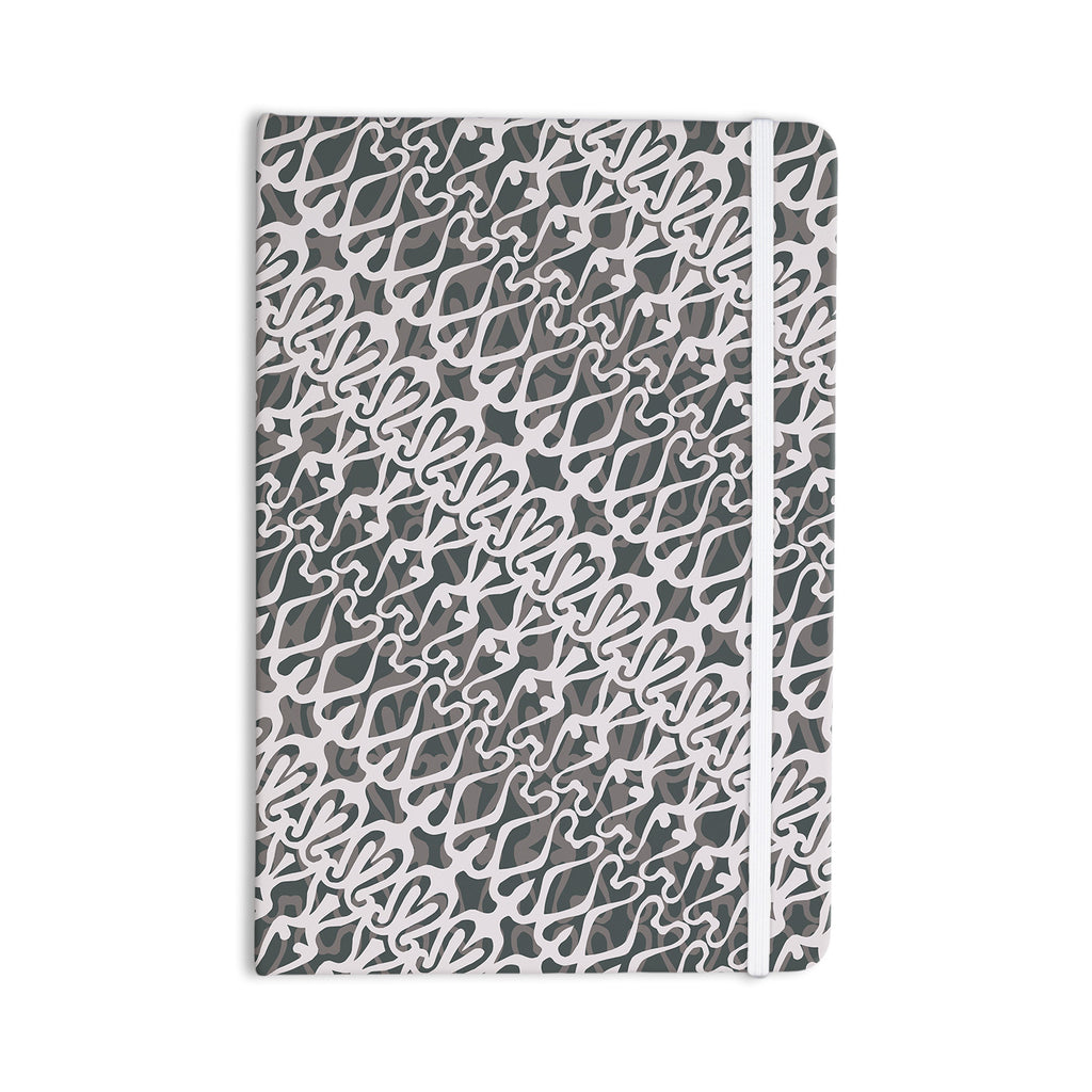 "Miranda Mol ""Silver Lace"" Everything Notebook - KESS InHouse  - 1"
