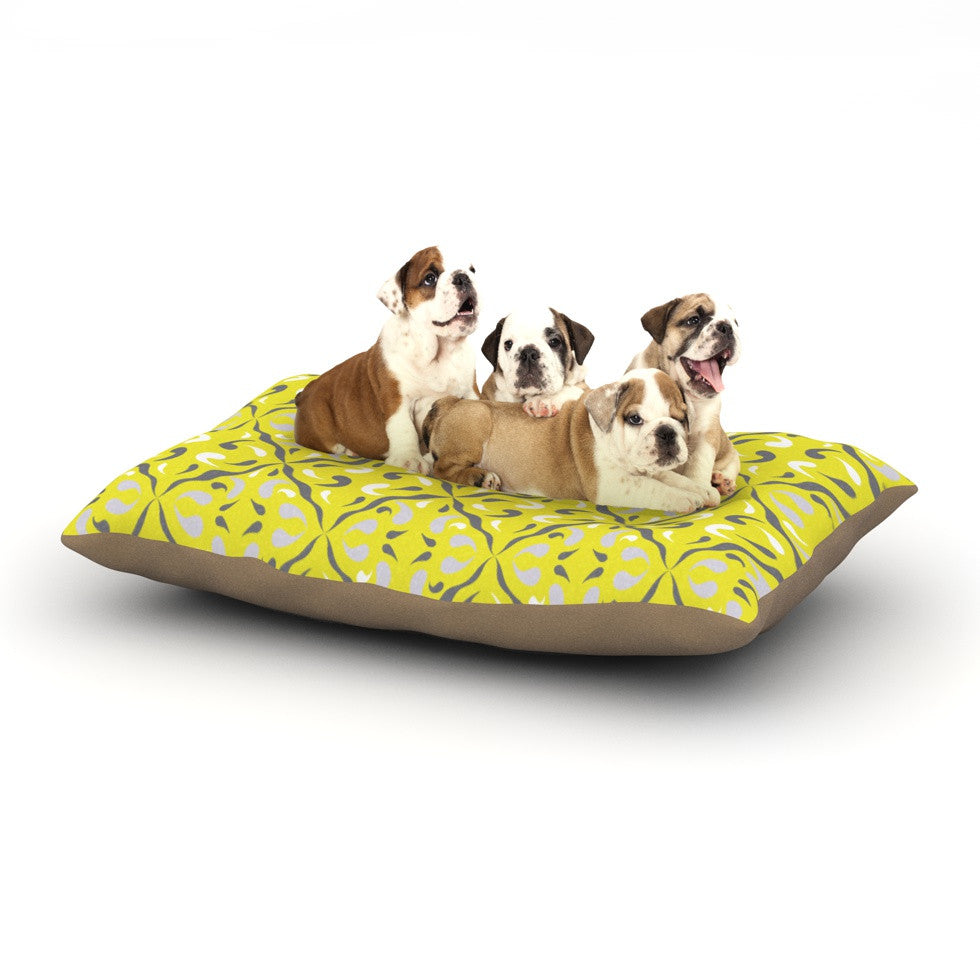 "Miranda Mol ""Seedtime"" Dog Bed - KESS InHouse  - 1"