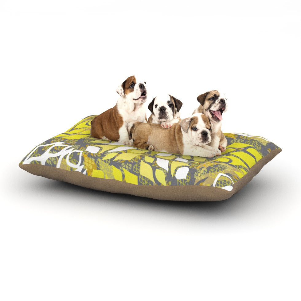"Miranda Mol ""Sandy Signs"" Dog Bed - KESS InHouse  - 1"