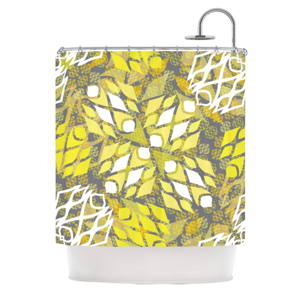 "Miranda Mol ""Sandy Signs"" Shower Curtain - KESS InHouse"