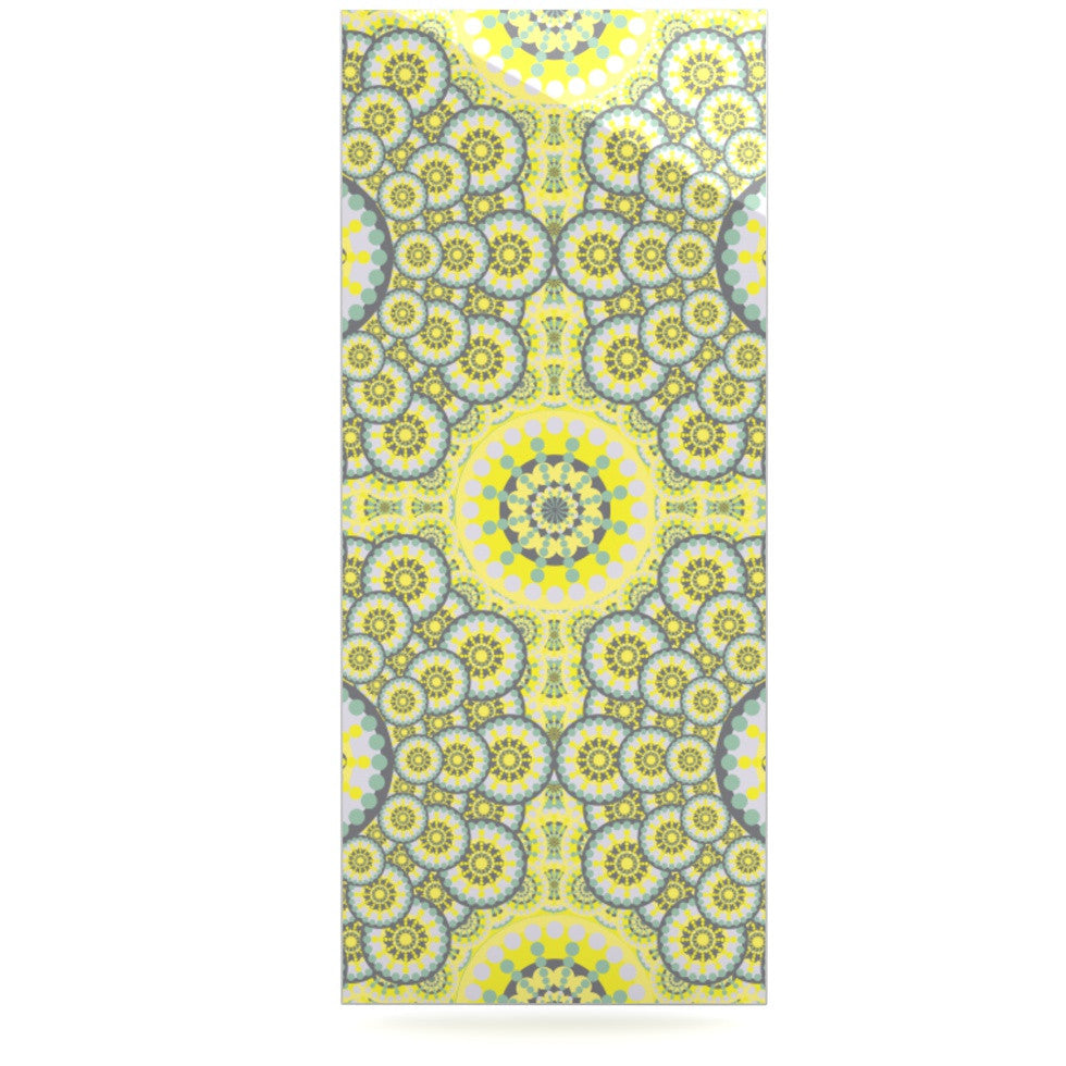 "Miranda Mol ""Multifaceted Flowers"" Luxe Rectangle Panel - KESS InHouse  - 1"