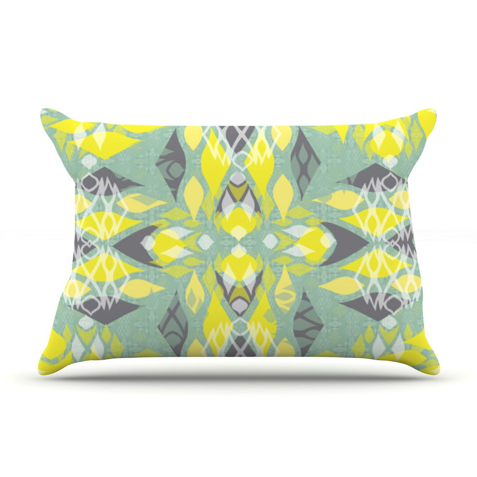 "Miranda Mol ""Joyful Teal"" Pillow Sham - KESS InHouse"