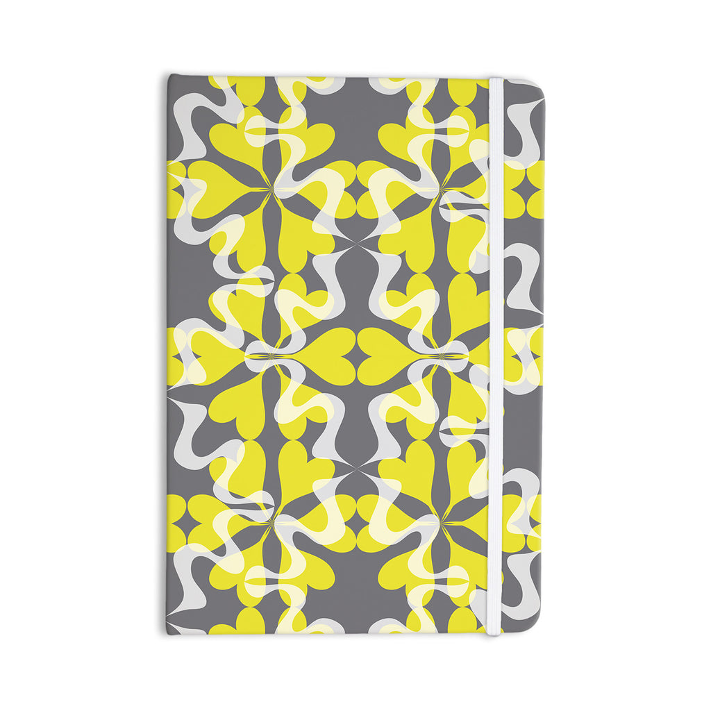"Miranda Mol ""Flowering Hearts"" Everything Notebook - KESS InHouse  - 1"