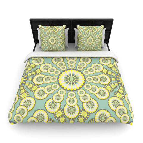 "Miranda Mol ""Equinox""  Woven Duvet Cover - Outlet Item"