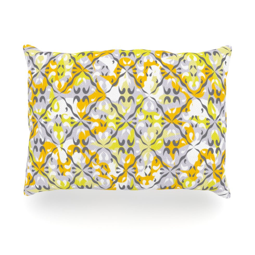 "Miranda Mol ""Effloresco"" Oblong Pillow - KESS InHouse"