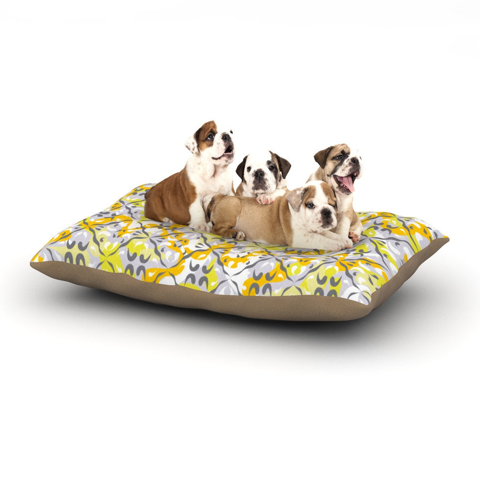 "Miranda Mol ""Effloresco"" Dog Bed - KESS InHouse  - 1"