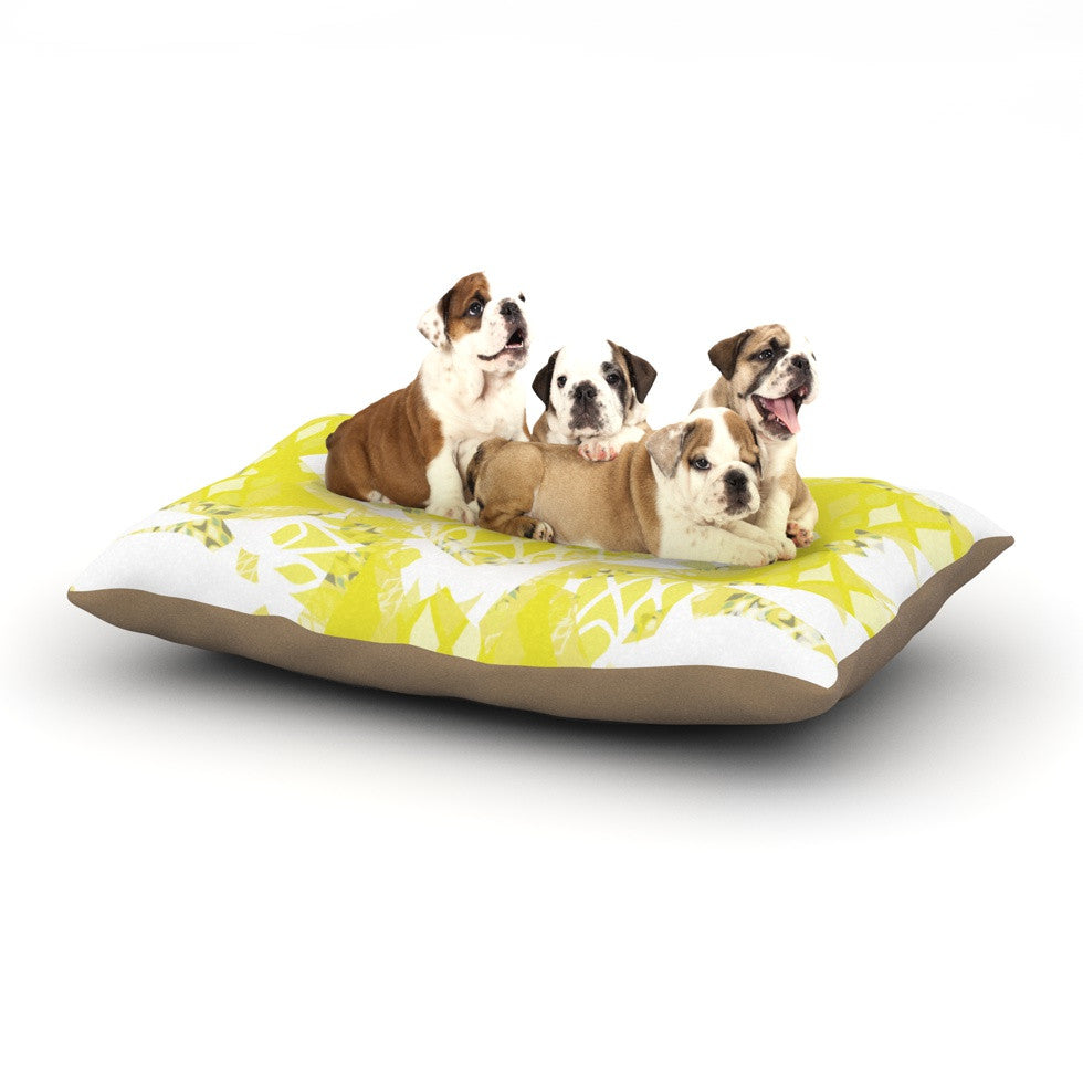 "Miranda Mol ""Citrus Spritz"" Dog Bed - KESS InHouse  - 1"