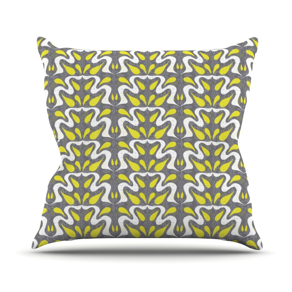 "Miranda Mol ""Cascade"" Outdoor Throw Pillow - KESS InHouse  - 1"
