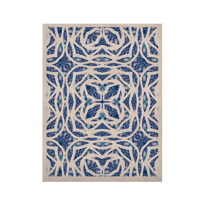 "Miranda Mol ""Blue Explosion"" KESS Naturals Canvas (Frame not Included) - KESS InHouse  - 1"