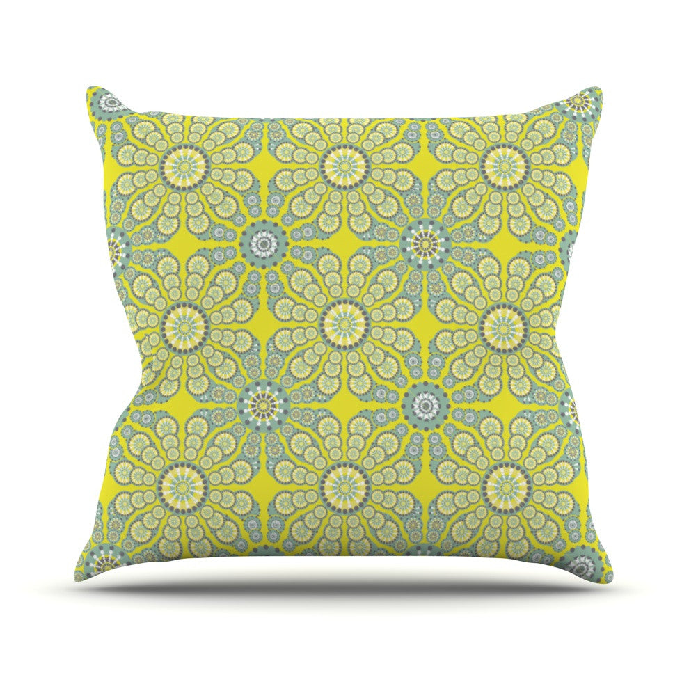 "Miranda Mol ""Budtime"" Throw Pillow - KESS InHouse  - 1"