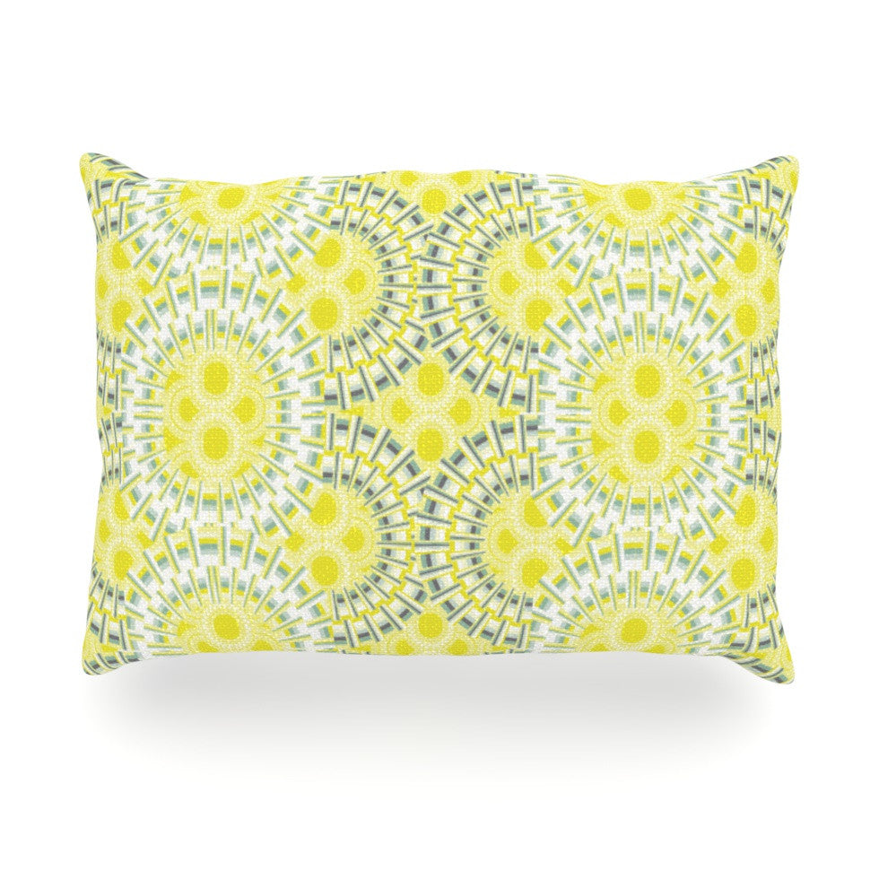 "Miranda Mol ""Blossoming Buds"" Oblong Pillow - KESS InHouse"
